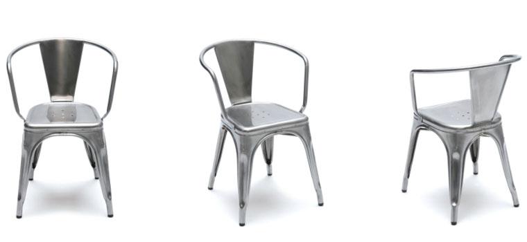Tolix Stuhl leconnaisseur tolix stühle