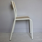 Preview: Original Stuhl La Chaise 510 Farbe Weiss - Natur Made in France
