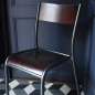 Preview: Chaise Mullca Gaston Cavaillon Label Edition original made in France