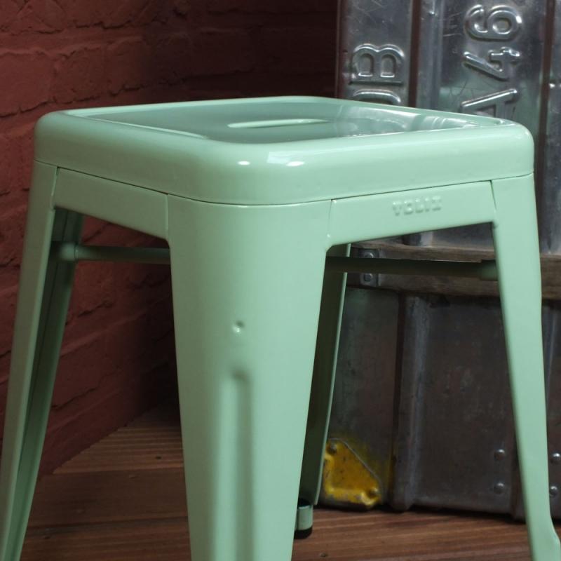 tolix tabouret h45 gr n ral 6019. Black Bedroom Furniture Sets. Home Design Ideas