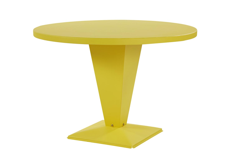 Leconnaisseur Net Table Kub Von Tolix Runde Tischplatte