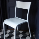 ORIGINAL STUHL LA CHAISE 510 FARBE WEISS MADE IN FRANCE